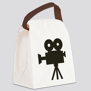 Videocamera Canvas Lunch Bag