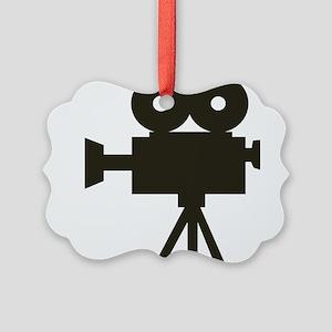 Videocamera Picture Ornament