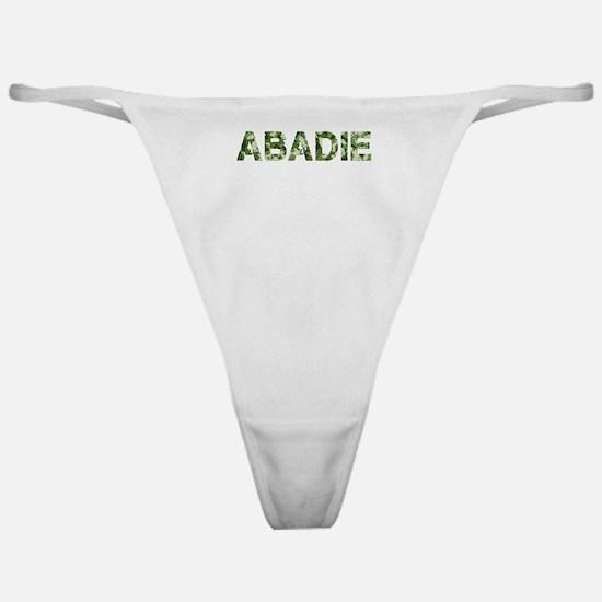 Abadie, Vintage Camo, Classic Thong