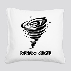 Tornado Chaser Square Canvas Pillow