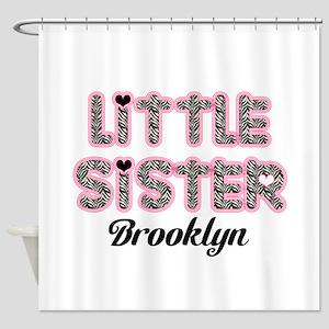 Custom little sister Shower Curtain