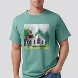 ccframed print L Mens Comfort Colors Shirt