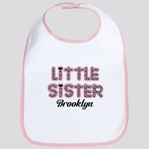 Custom little sister Bib