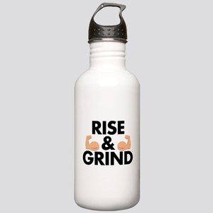 Rise and Grind Arm Emo Stainless Water Bottle 1.0L