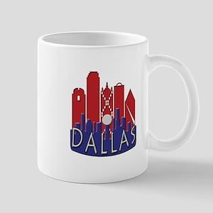 Dallas Skyline NewWave Patriot Mug