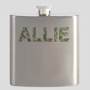 Allie, Vintage Camo, Flask