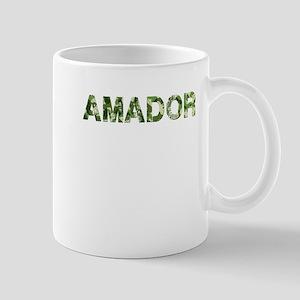 Amador, Vintage Camo, Mug