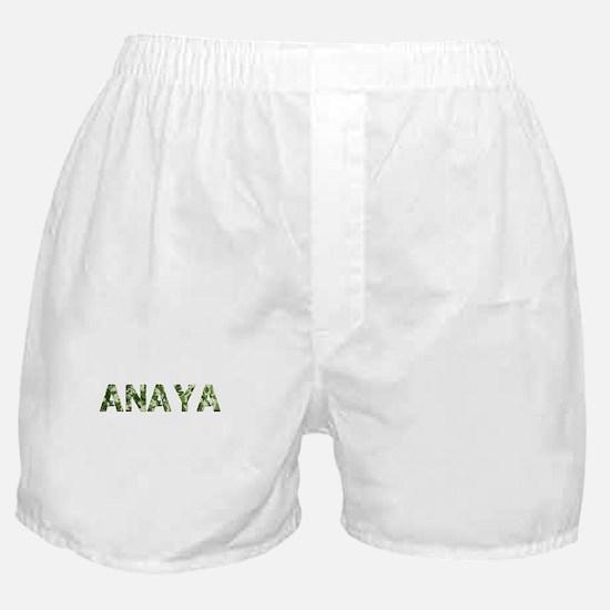Anaya, Vintage Camo, Boxer Shorts