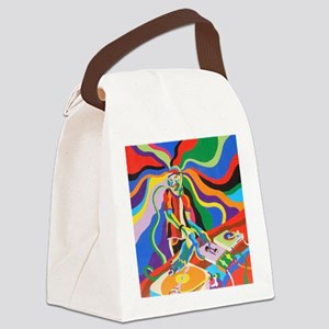 The DJ Canvas Lunch Bag