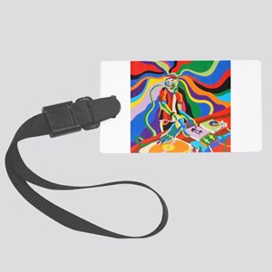 The DJ Large Luggage Tag