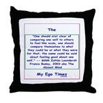 Philosophical Quote Throw Pillow