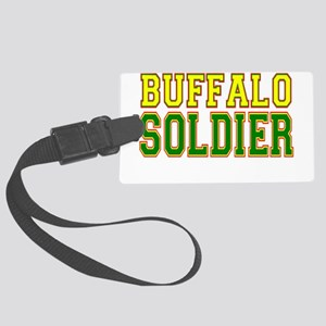 Buffalo Soldier Large Luggage Tag