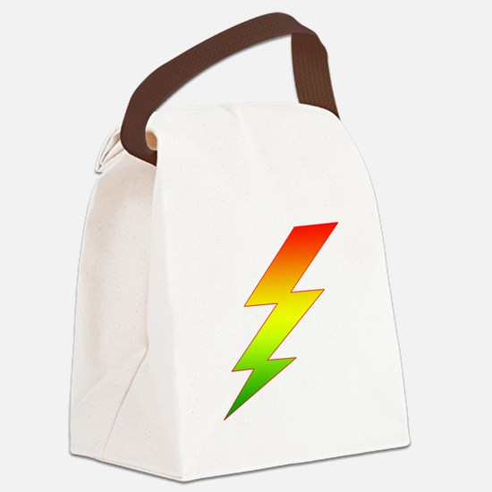 Bolt.png Canvas Lunch Bag