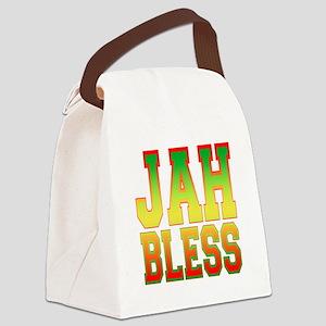Jah Bless Canvas Lunch Bag
