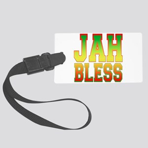 Jah Bless Large Luggage Tag