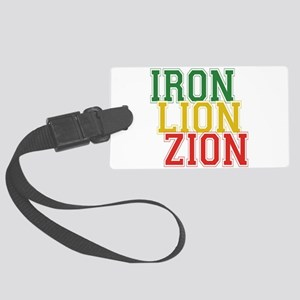 Iron Lion Zion Large Luggage Tag