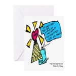 Romance Series  Greeting Cards (Pk of 10)