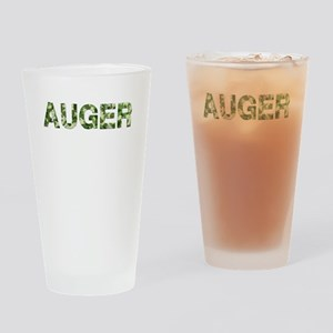 Auger, Vintage Camo, Drinking Glass