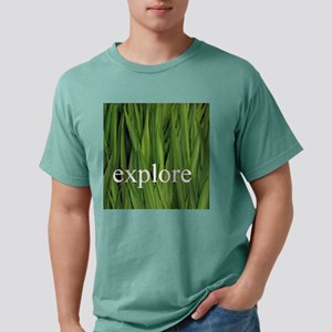 explore grass Mens Comfort Colors Shirt