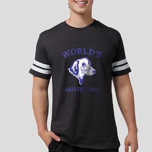 Flat-Coated RetrieverH Mens Football Shirt