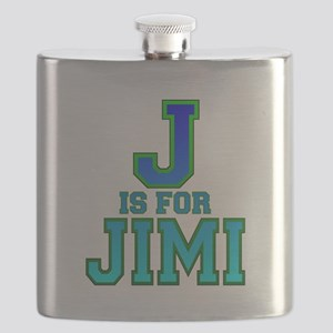 J is for Jimi Flask