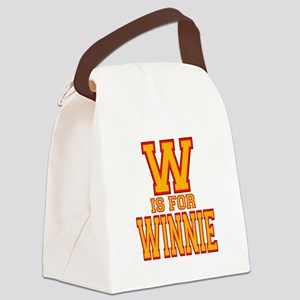 W is for Winnie Canvas Lunch Bag