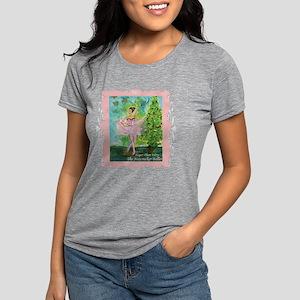 20101008 -Sugarplum Fairy Womens Tri-blend T-Shirt