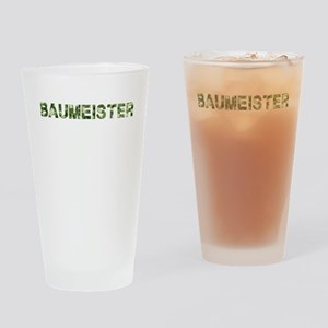 Baumeister, Vintage Camo, Drinking Glass
