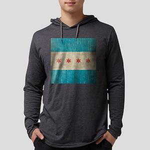 VintageChicago Mens Hooded Shirt
