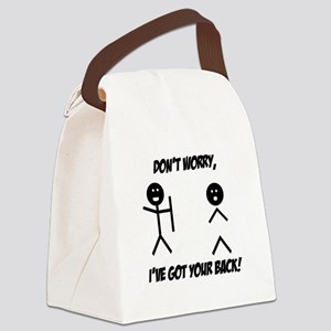Ive got your back Canvas Lunch Bag