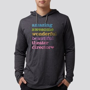 Theater Director Mens Hooded Shirt