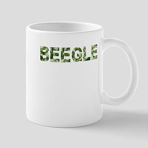 Beegle, Vintage Camo, Mug