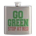Go Green, Stop at Red.png Flask