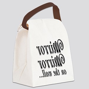Mirror mirror Canvas Lunch Bag
