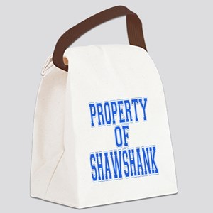 Property of Shawshank Canvas Lunch Bag