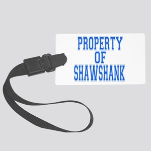 Property of Shawshank Large Luggage Tag