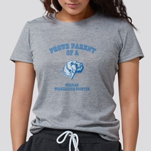 German Wirehaired Pointer Womens Tri-blend T-Shirt