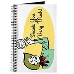 Shank You Very Much! Journal
