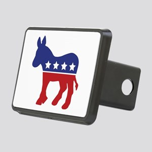 Democrat Donkey Rectangular Hitch Cover