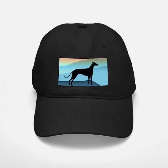 greyhound blue mt. Baseball Hat