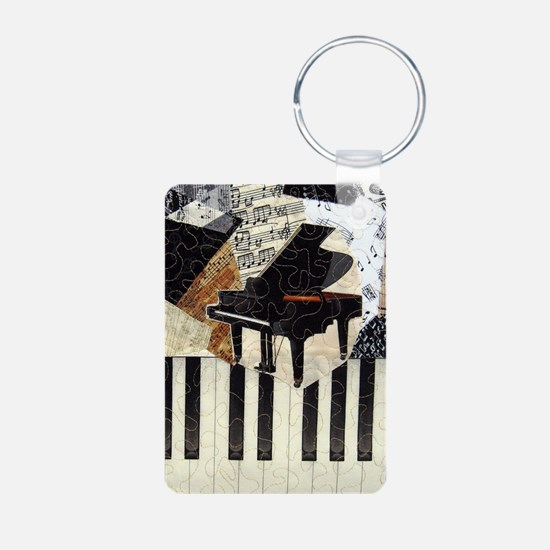 Grand Piano Keychains
