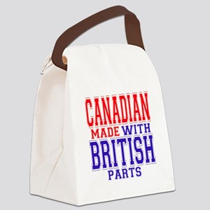 Canadian Made British Parts Canvas Lunch Bag