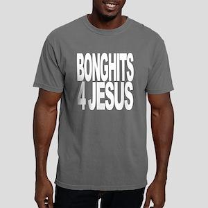 bonghits4jesuswht Mens Comfort Colors Shirt