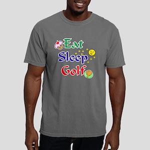 eat sleep golf drk Mens Comfort Colors Shirt