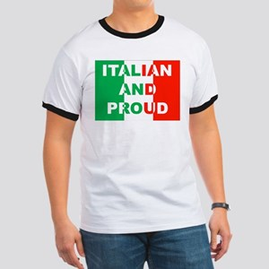 Italian And Proud Ringer T