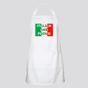 Italian And Proud BBQ Apron