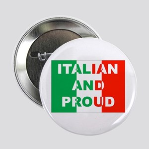 Italian And Proud Button