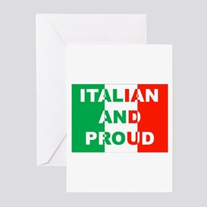Italian And Proud Greeting Cards Pk Of 10