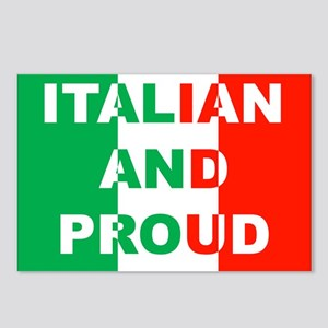 Italian And Proud Postcards (Package of 8)