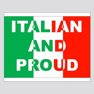 Italian And Proud Small Poster